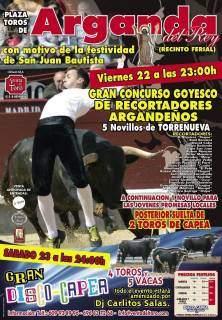 GRAN CONCURSO GOYESCO DE RECORTADORES - ARGANDA 22JUN2012