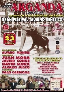 GRAN FESTIVAL TAURINO - ARGANDA 23JUN2012