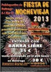 Seguridad y vigilancia en eventos: Nochevieja_2013 - Buitrago