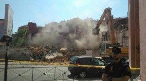 Demolición del Centro Okupa de