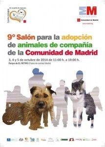 IX Salón de la Adopción de Animales de Compañía de la Comunidad de Madrid. Perrotón Village 2014