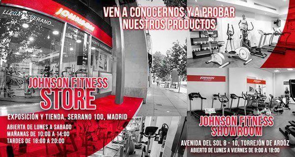 Johnson Fitness Showroom en Torrejón de Ardoz - con la seguridad de Civittas